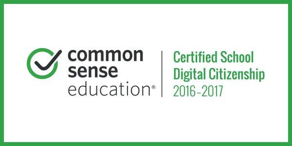 common sense media certified school logo