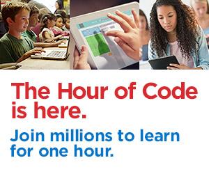 hour of code banner