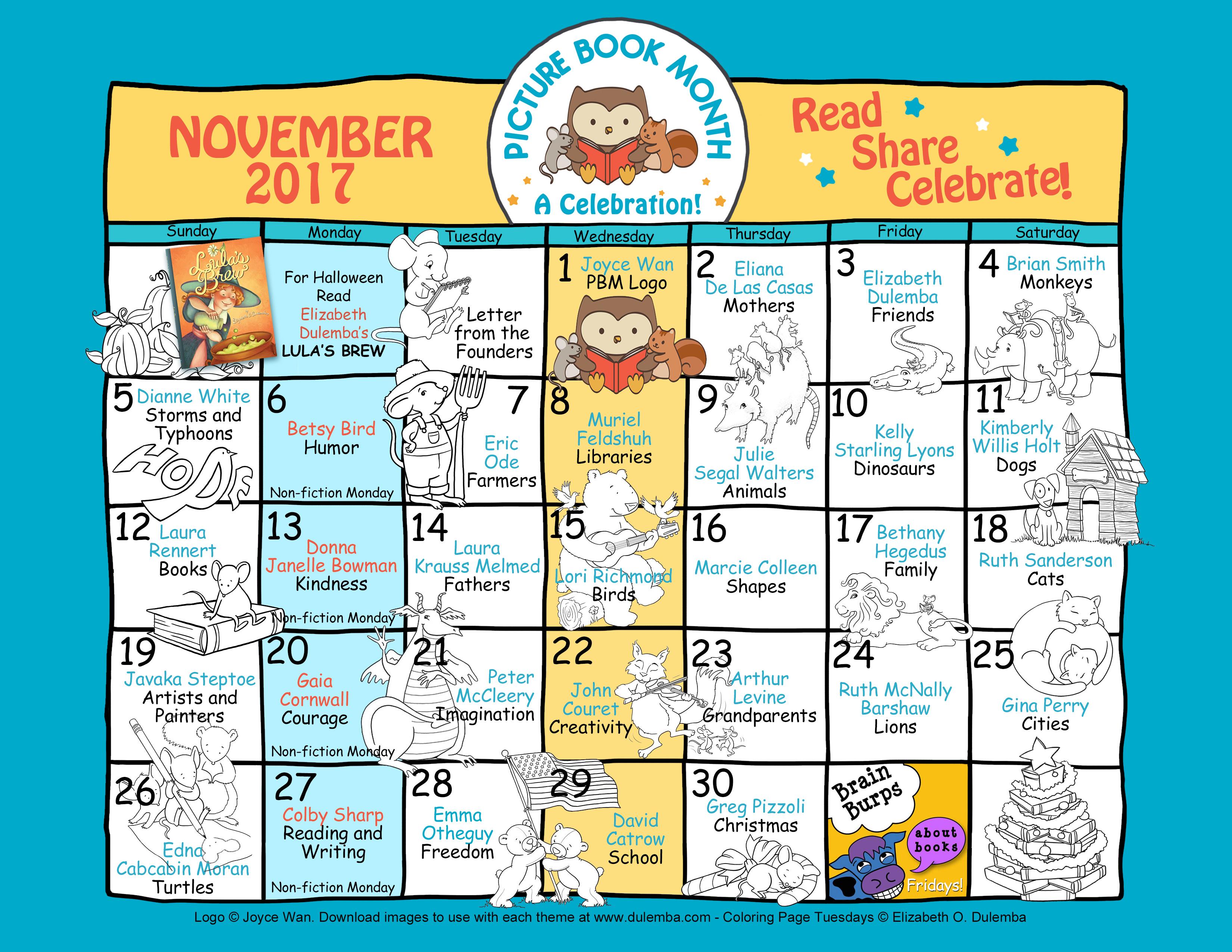Calendar2017-color1